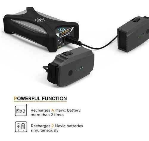 estacion de carga de bateria portatil dronemax m10 de energe