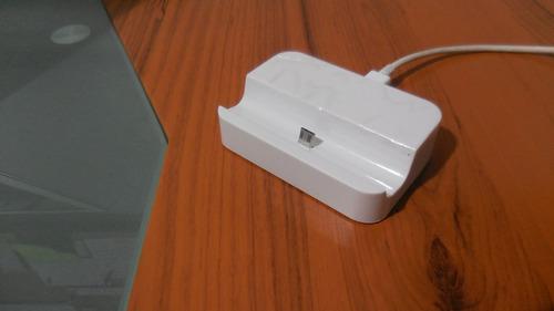 estación de carga para samsung, htc, y otros + cable usb