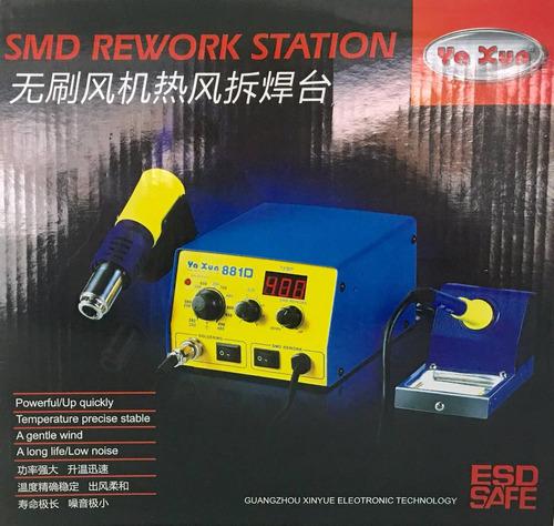 estación de cautin y calor yx 881 yaxun ld-1993
