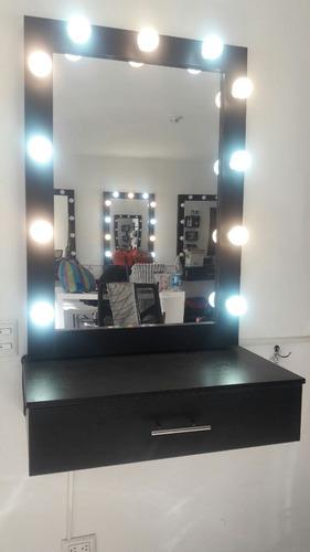 estación de  maquillaje profesional + cajonera