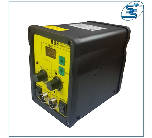 estacion de soldado aire caliente smd cautin simil yihua 968