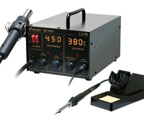 estacion de soldado proskit ss989 digital aire caliente 700w