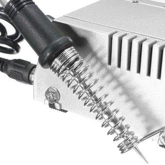 estación de soldadura cautín 450c base metálica de precisión