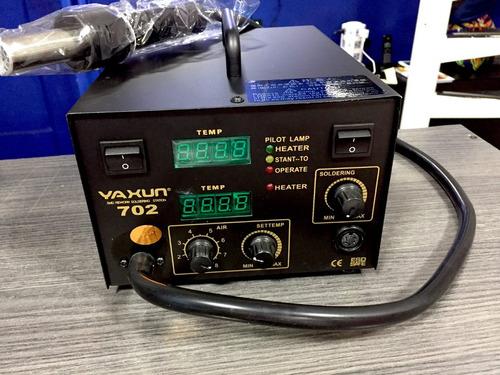 estacion de soldar pistola de calor ya xun 702 cautin/ nueva