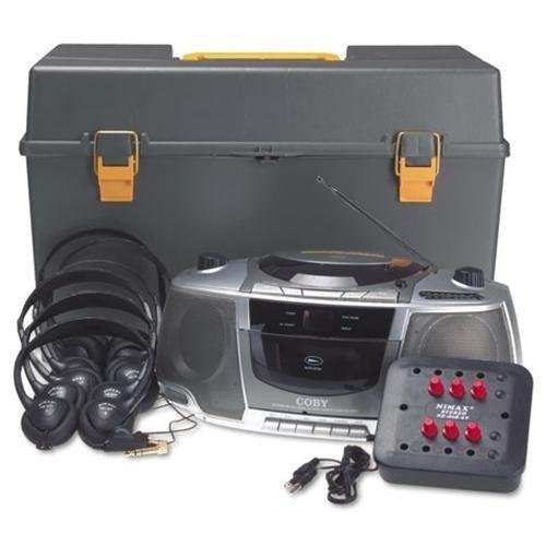 estacion de sonido para 6 usuarios amplivox personal station