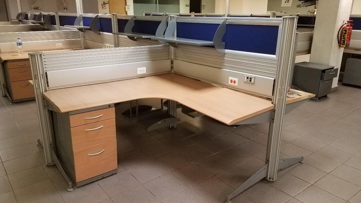 Estacion De Trabajo 14 Personas Cubiculo Escritorio Oficina ...