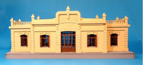 estación de trenes 3ra clase de la c.g.b.a. - nvm hobbies