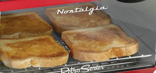 estación desayuno nostalgia retro bset300retrored 3-en-1 tam