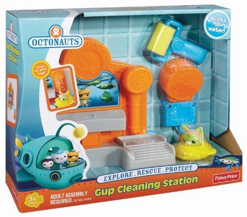 estación limpieza fisherprice octonauts gup