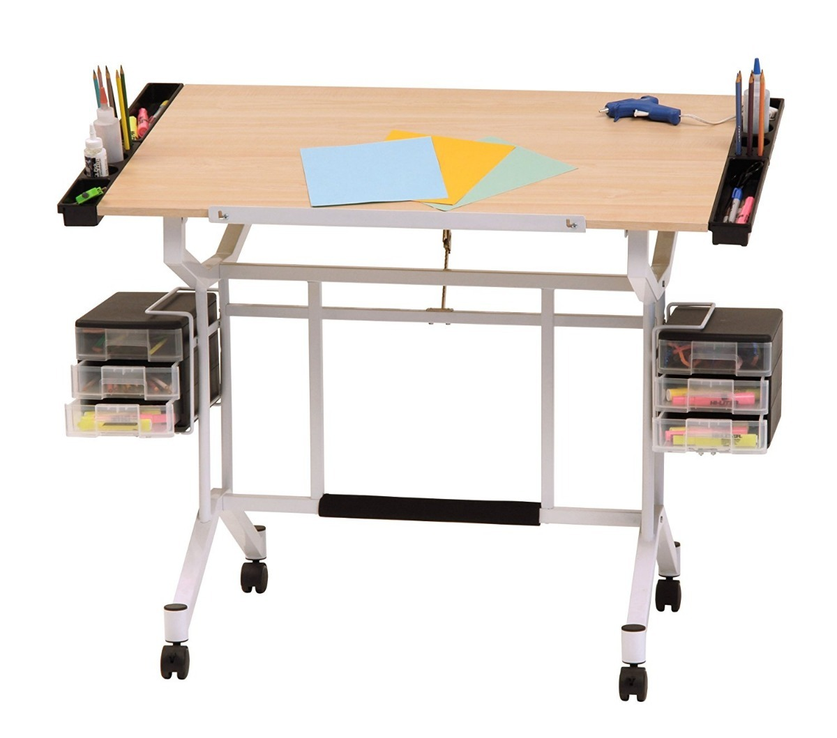 Estacion madera para dibujo escritorio plegable envio - Mesa de escritorio plegable ...