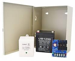 estación manual con luz estroboscópica y banco de bateria.