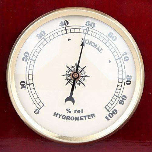 estación meteorológica analógica de lily's home, con