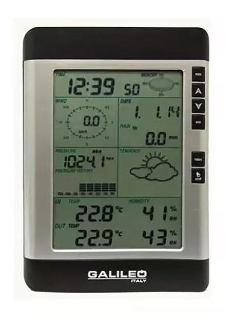 aef16d4d3 Estacion Meteorológica Profesional Galileo Ws3200 Conex. Pc ...