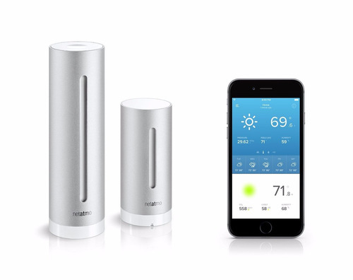 estacion metereologica personal netatmo para smartphone