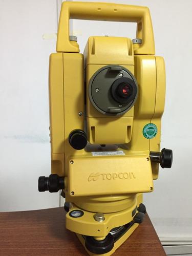 estación total electrónica topcon modelo gpt-3107w (nuevo)
