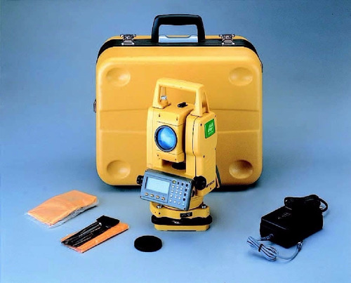estacion total topcon  gts-102 n con accesorios