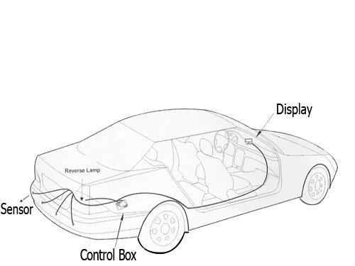 estacionamento sensor sensor