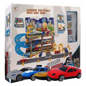 Estacionamento Super Garage 3 Andar 4 Carrinhos P7788a-2