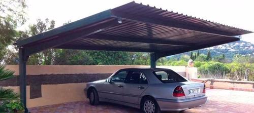 estacionamientos pergolas techo para autos estructuras