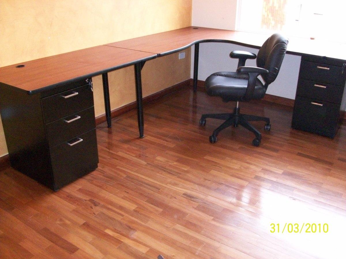 estaciones de trabajo en l escritorios muebles de oficina