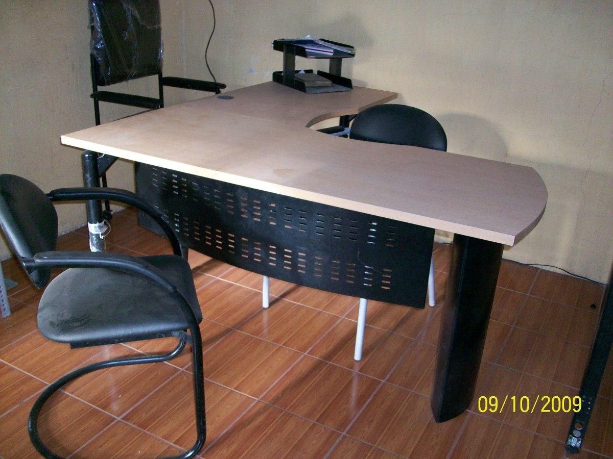 Estaciones De Trabajo En L Escritorios Muebles De Oficina - U$S 200 ...