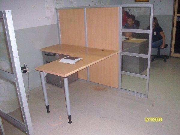 Estaciones de trabajo escritorios muebles de oficina u s for Muebles de oficina mercado libre