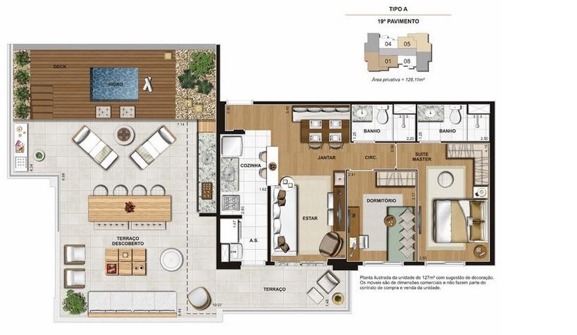 estação brás - apartamento 127 m2 - lançamento