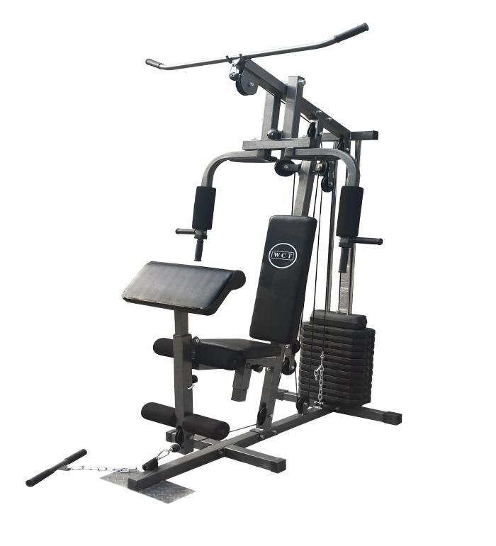 91f37aab1e Estação De Musculação Com 120kg Em Anilhas De Peso - R  2.098