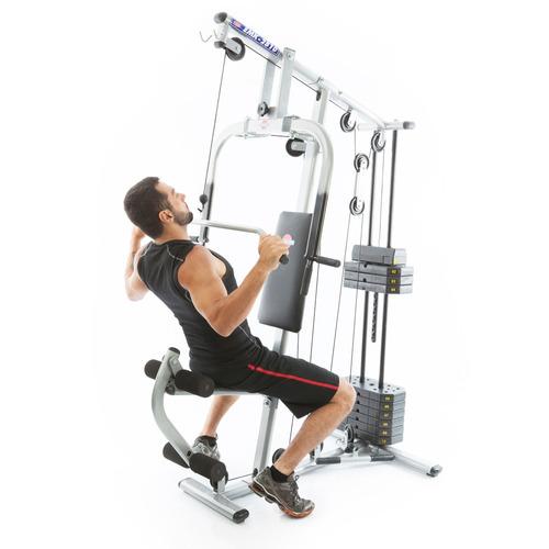 estação de musculação com 50kg emk 2810 kenkorp