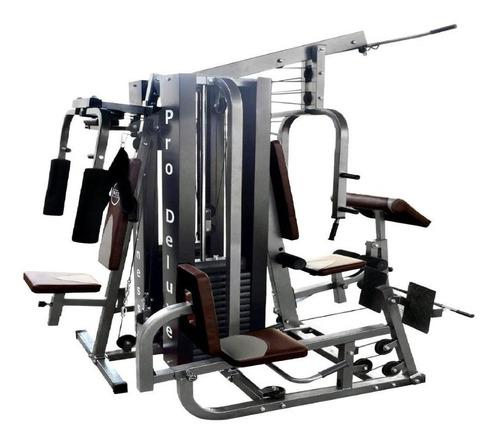 estação de musculação completa wct fitness 204kg de peso