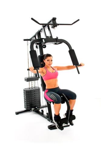 estação de musculação df 7000 diamond fitness com 50 kg
