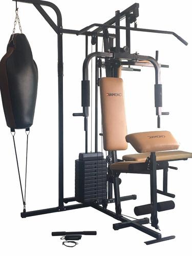 estação de musculação diamond fitness df 1000 com 60 kg