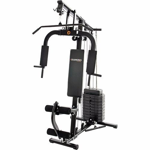 estação de musculação diamond fitness df 7000 plus com 70 kg