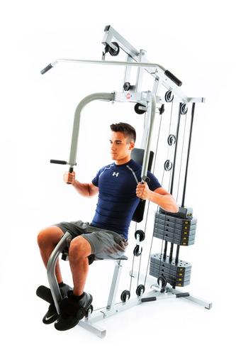 estação de musculação emk 2810 - com 50 kg kenkorp