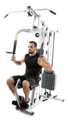 estação de musculação  emk2810 com 50kg kenkorp