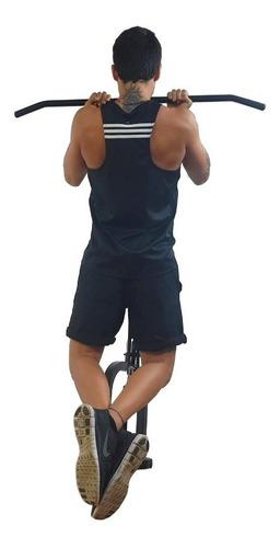 estação de musculação fixa parede kenkorp