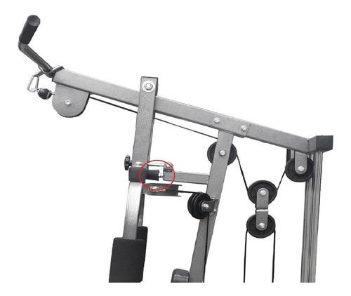 estação de musculação plus com 80kg aparelho ginástica