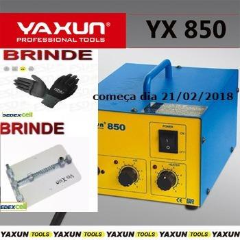 estação de retrabalho ar quente yaxun 850 110v