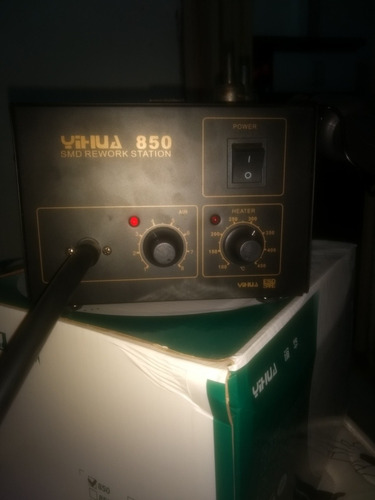 estação de solda e dessolda retrabalho yihua850 110v