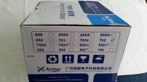estação de solda e retrabalho ar quente yaxun 702