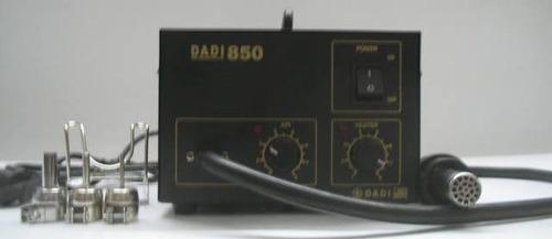 estação de solda e retrabalho de ar quente 220v dadi 850
