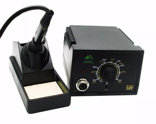 estação ferro de solda profissional escolha voltagem