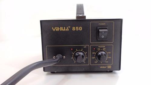 estação solda dessolda retrabalho a vapor 850 dns yihua 110v