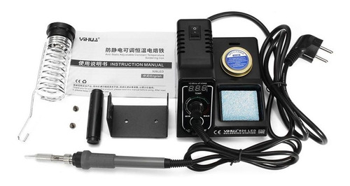 estação solda profissional yihua 926 painel led digital