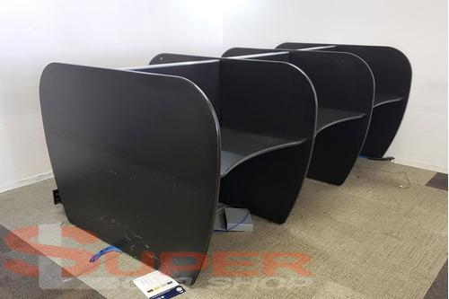 estação trabalho baias call center 6 lugares 320x180cm 25mm