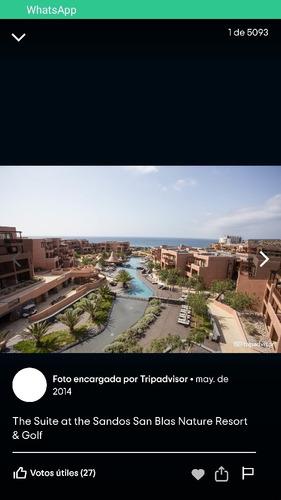 estadía cadena hotelera sandos all inclusive méxico/españa