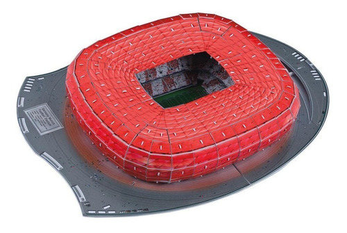 estadio 3d de munich rompecabezas 3d puzzle estadio