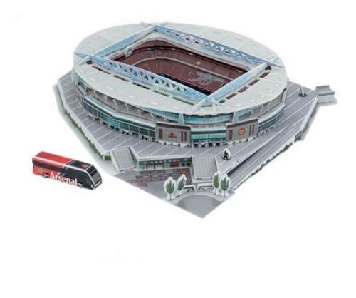 estadio 3d emirates rompecabezas 3d puzzle estadios