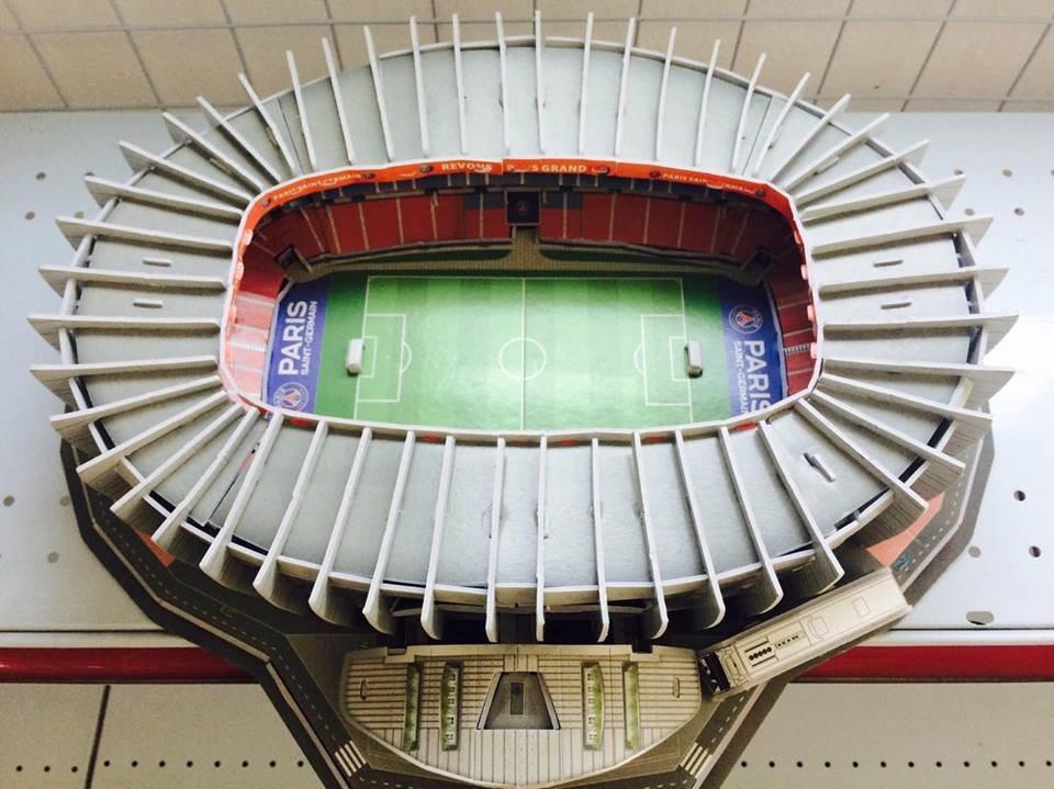 Estadio 3d Psg Rompecabezas 3d Parque De Los Principes