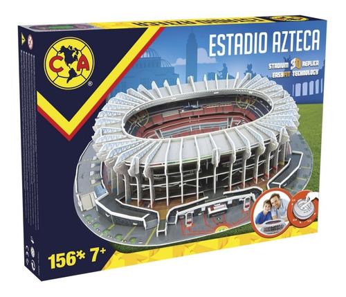 estadio azteca rompecabezas 3d 156 piezas
